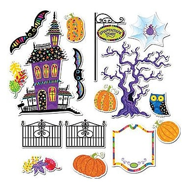 Creative Teaching Press™ Poppin' Patterns® Bulletin Board Set, Spooktacular