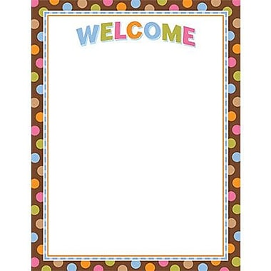 Creative Teaching Press™ Dots On Chocolate® Welcome Classroom Essentials Chart