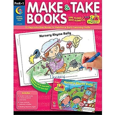 Creative Teaching Press™ Make and Take Book, Grades Pre Kindergarten - 1st
