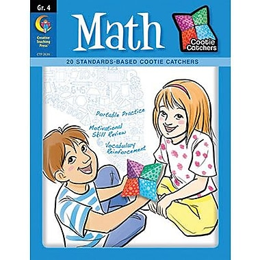 Creative Teaching Press™ Cootie Catchers Math Book, Grades 4th