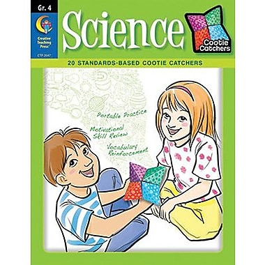 Creative Teaching Press™ Cootie Catchers Science Game Book, Grades 4th