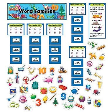 Creative Teaching Press™ Mini Bulletin Board Set, Word Families