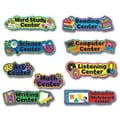 Creative Teaching Press™ Poppin' Patterns® Bulletin Board Set, Learning Center Signs