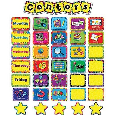 Creative Teaching Press™ Poppin' Patterns® Mini Bulletin Board Set, Centers