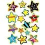 Creative Teaching Press Poppin' Patterns Stickers, Bright Star
