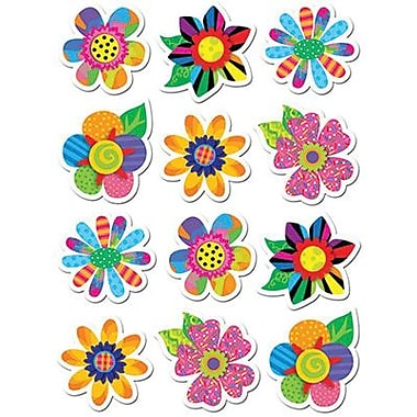 Creative Teaching Press™ Poppin' Patterns® Stickers, Spring Flowers