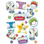 Creative Teaching Press CTP4115 Snowmen Stickers