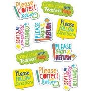 Creative Teaching Press™ Stickers, Time-Saving Phrases