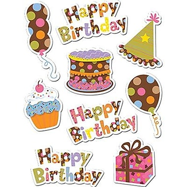 Creative Teaching Press™ Dots On Chocolate® Stickers, Happy Birthday