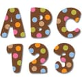 Creative Teaching Press™ Letter Stickers, Dots On Chocolate® Uppercase Designer