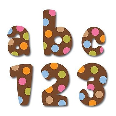 Creative Teaching Press™ Dots On Chocolate® Letter Stickers