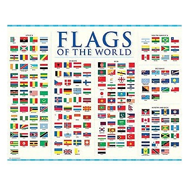 Creative Teaching Press™ Flags of The World Sharp Chart