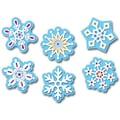 Creative Teaching Press™ 1in. Mini Designer Cut-Outs, Winter Snowflakes