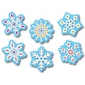Creative Teaching Press™ 6in. Designer Cut-Outs, Winter Snowflakes