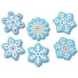 "Creative Teaching Press™ 6"" Designer Cut-Outs, Winter Snowflakes"
