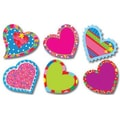 Creative Teaching Press™ Poppin' Patterns® 6in. Designer Cut-Outs, Happy Hearts