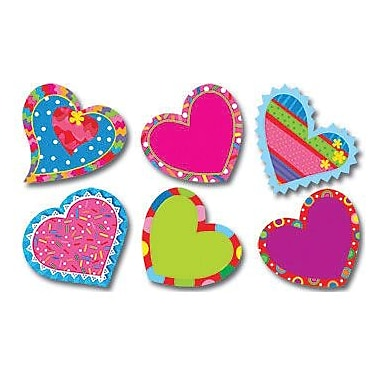 Creative Teaching Press™ Poppin Patterns® 6in. Designer Cut-Outs, Happy Hearts