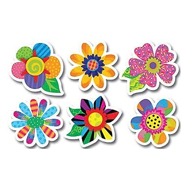 Creative Teaching Press™ Poppin' Patterns® 6in. Designer Cut-Outs, Spring Flowers