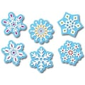 Creative Teaching Press™ 10in. Jumbo Designer Cut-Outs, Winter Snowflakes