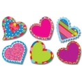 Creative Teaching Press™ Poppin' Patterns® 10in. Jumbo Designer Cut-Outs, Happy Hearts