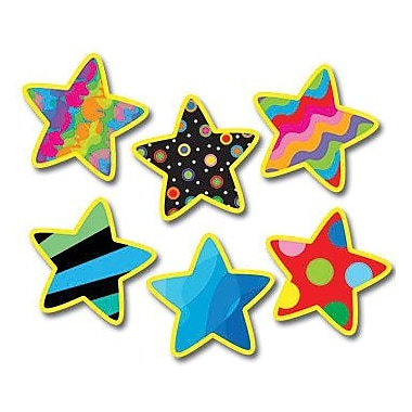 Creative Teaching Press™ Poppin' Patterns® 1in. Mini Designer Cut-Outs, Stars