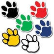 Creative Teaching Press™ 1in. Mini Designer Cut-Out, Paw Prints