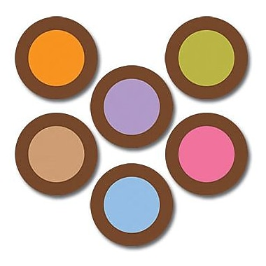 Creative Teaching Press™ Dots On Chocolate® 1in. Mini Designer Cut-Outs, Dots