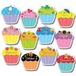 Creative Teaching Press™ 10in. Jumbo Designer Cut-Outs, Cupcakes