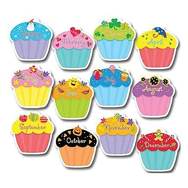 Creative Teaching Press™ 10in. Jumbo Designer Cut-Outs, Cupcakes