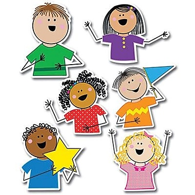 Creative Teaching Press™ 10in. Jumbo Designer Cut-Outs, Stick Kid's