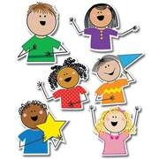 "Creative Teaching Press 10"" Jumbo Designer Cut-Outs, Stick Kid's"