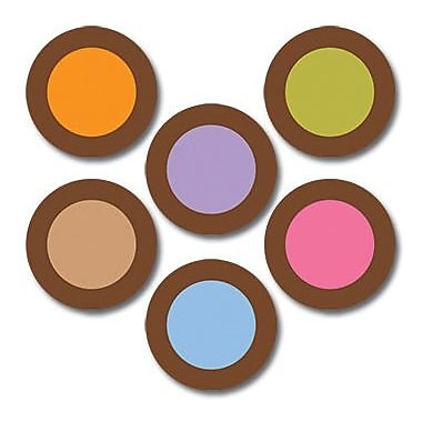 Creative Teaching Press™ Dots On Chocolate® 10in. Jumbo Designer Cut-Outs, Dots