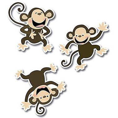 Creative Teaching Press™ 10in. Jumbo Designer Cut-Outs, Monkeys