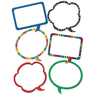 Creative Teaching Press™ 10in. Jumbo Designer Cut-Outs, Speech Bubbles
