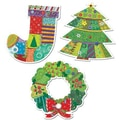 Creative Teaching Press™ 10in. Jumbo Designer Cut-Outs, Winter Holiday