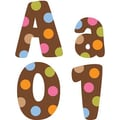 Creative Teaching Press™ Dots On Chocolate® Designer Letter, Brown