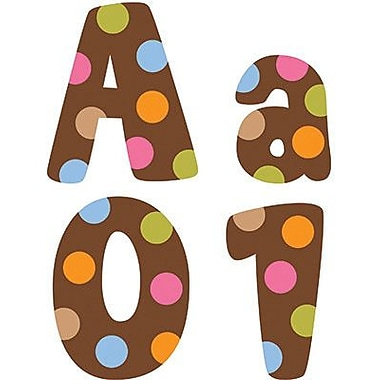 Creative Teaching Press Dots On Chocolate® Designer Letter, Brown