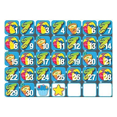 Creative Teaching Press Seasonal Calendar Days, Poppin Patterns®, June