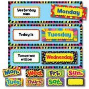 Creative Teaching Press Poppin Patterns® Mini Bulletin Board Set, Days of The Week