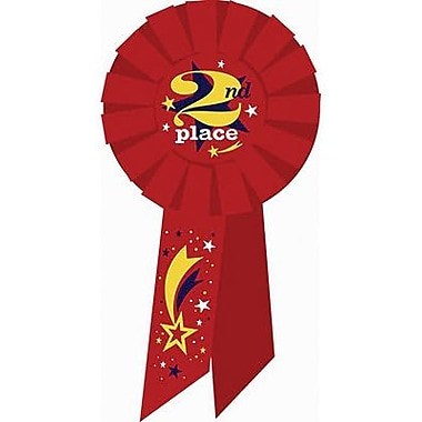 Diploma Mill® 2nd Place Rosette Ribbon