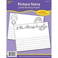 Edupress® 8 1/2in. x 11in. Lined Writing Paper, Picture Story