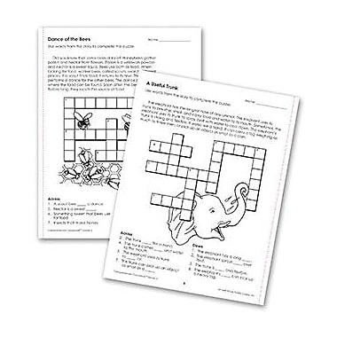 Edupress® Reading Comprehension, Crosswords, Grades 2nd