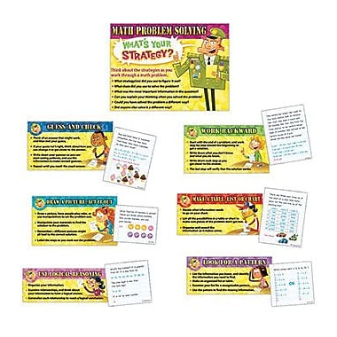 Edupress® Bulletin Board Set, Math Problem Solving Strategies