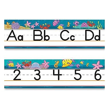 Edupress® Sea Fun Traditional Alphabet Line Manuscript