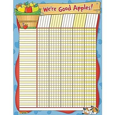 Edupress® Incentive Wall Chart, We're Good Apples