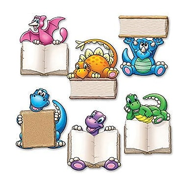 Edupress® Mini Bulletin Board Accents, Dino Readers
