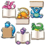 Edupress® Mini Bulletin Board Accents, Dino Readers