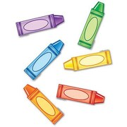 Edupress® Mini Bulletin Board Accents, Crayons
