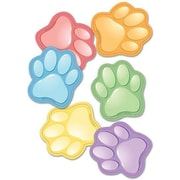 Edupress® Toddler - 12th Grades Bulletin Board Accents, Paw Prints