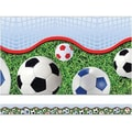 Edupress® Pre School - 12th Grades Straight Layered-Look Border, Soccer